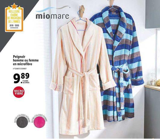 Теплый мягкий плюшевый халат женский MIOMARE.