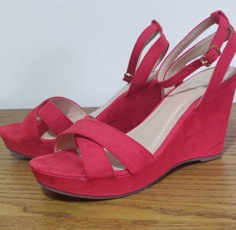 Sandálias vermelhas Cunha Seaside