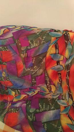 Сари и шарф (в комплекте)