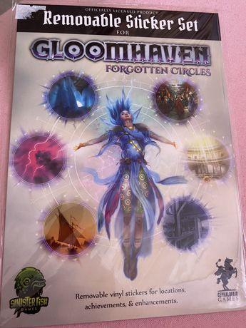Gloomhaven( многоразовые наклейки к дополнению к игре )