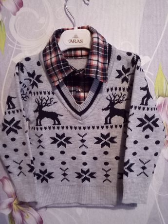 Пуловер на мальчика