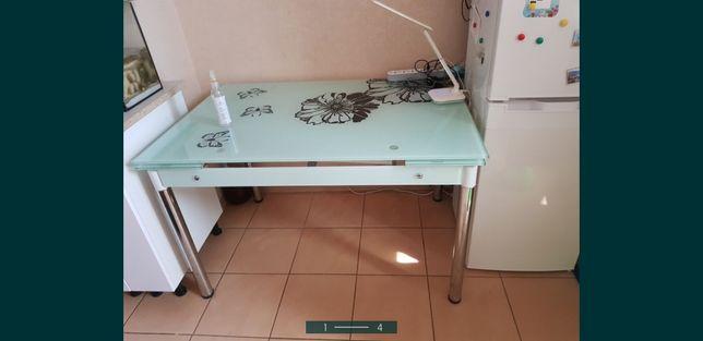 Новый стол Закалённое стекло Срочно Торг