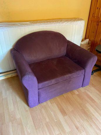 Sofa rozkładana z funkcją spania, jednoosobowa