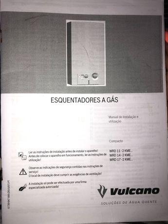Esquentador vulcano click ventilado
