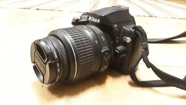 дзеркалка Nikon D60 продаж або обмін без торга