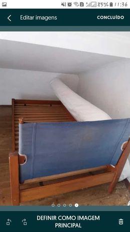 Cama de solteiro +colchão