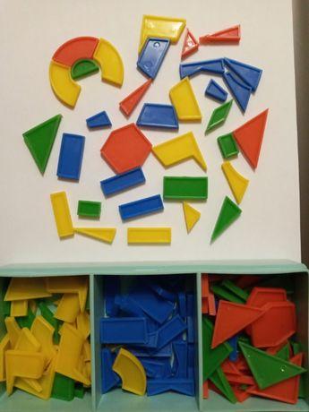 Мозаика геометрическая, игрушки СССР