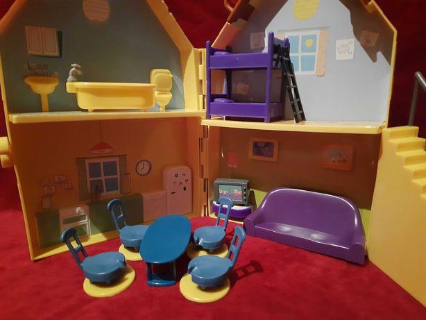 Домик свинки Пеппы с мебелью для маленьких кукол