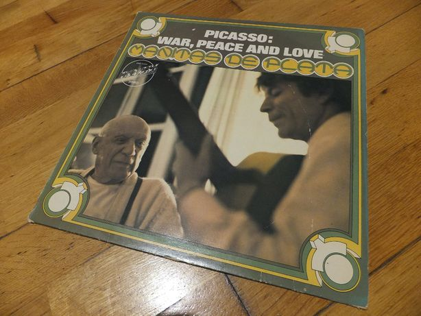 Płyta winylowa MANITAS DE PLATA Picasso: war, peace and love 1972