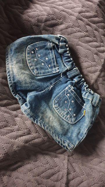 Spodenki jeans dla pieska z cyrkoniami York maltańczyk