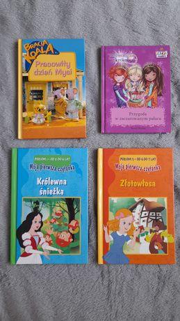 Zestaw książek dla dzieci w idealnym stanie do nauki czytania