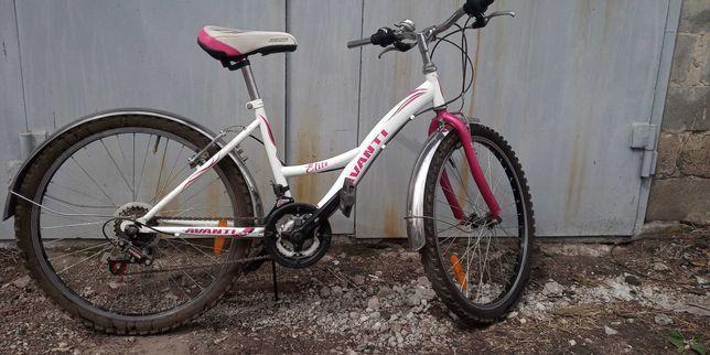 Велосипед подростковый. Диаметр колеса 24 см