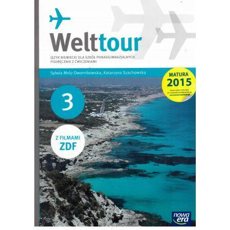 Książka Welttour 3 Podręcznik z ćwiczeniami +płyty