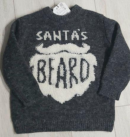 Zara świąteczny sweterek 110