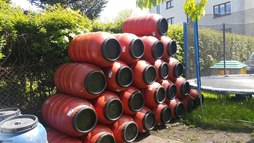 Beczka zbiornik na wodę wiaderko gratis Sierakowice - image 1