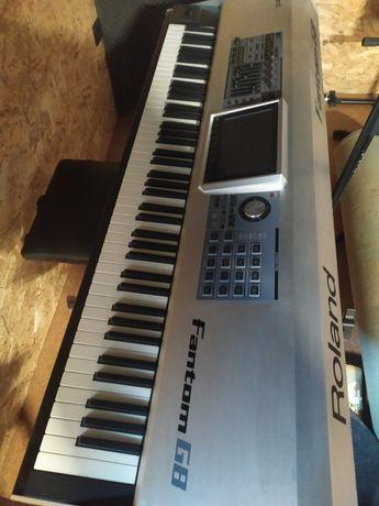 Roland Fantom G8 Workstation como NOVO