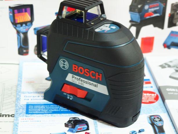 Niwelator przemyslowy BOSCH GLL 3-80 laser krzyż liniowy wurth spit