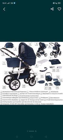 Продам детскую коляску 3 в1