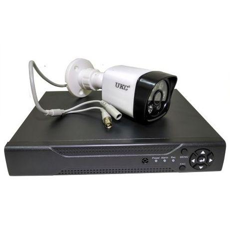 Набор DVR регистратор 4 канальный и 4 камеры DVR CAD D001