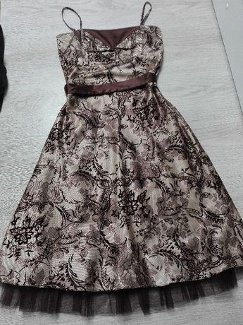 Sukienka na ramiączkach r.S