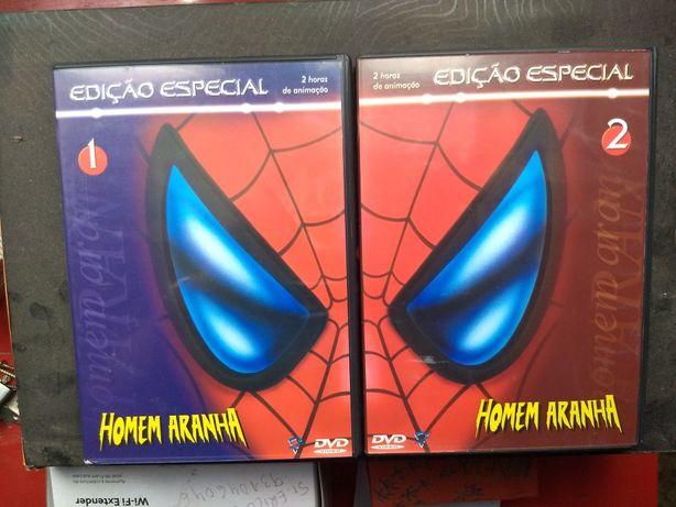 Homem-Aranha - 13 episódios em 2 DVD, animação