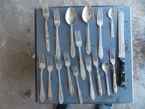 ножи ложки вилки половник