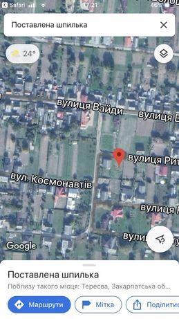 Земельна ділянка Тересва