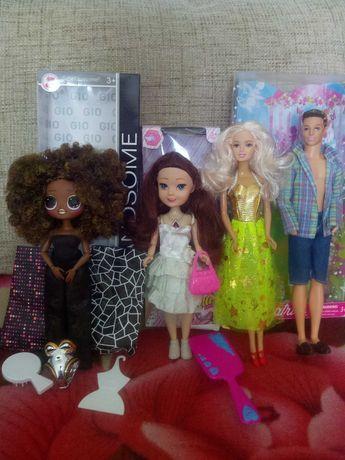 Лол большая ОМГ Роял Би,аскы +куклы Барби и Кен ЛОТОМ