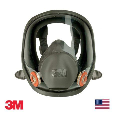 Маска 3M™ серии 6000 полнолицевая - распиратор