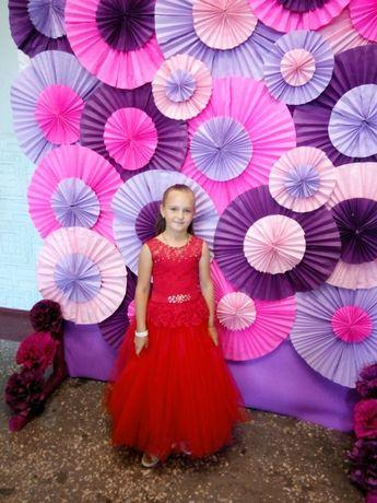 Платье для девочки 5-9 лет