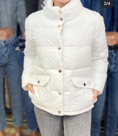Белоснежная белая курточка