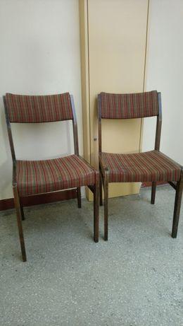 Krzesła PRL cena za 2 szt