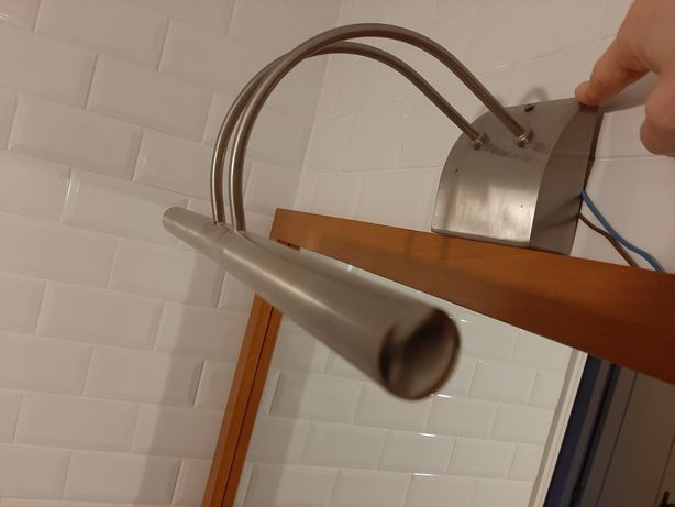 Candeeiro de parede/espelho c/ LED