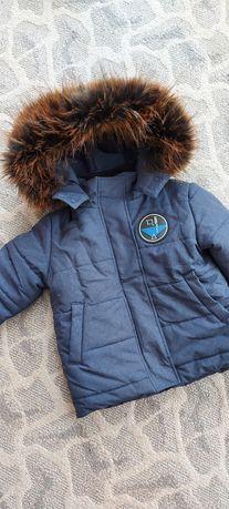 Курточка на мальчика, зима р.104