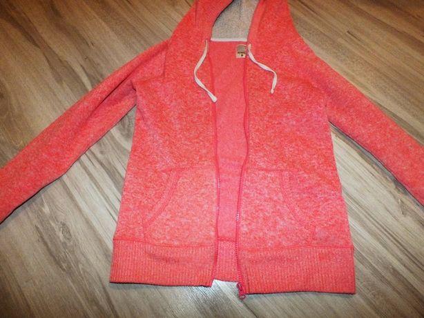 Sinsay różowa bluza z kapturem L