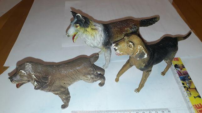 Psy figurki kolekcja duże