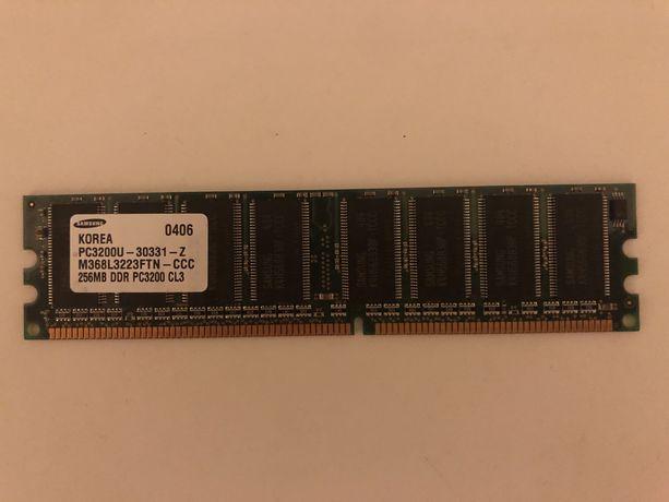 Оперативная память DDR1 SAMSUNG 256Mb(400Mhz)