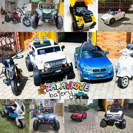 Samochód na Akumulator Auto Autko Motor Quad Traktor Dla Dzieci