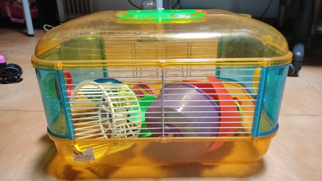 Gaiola para Hamster 40 x 25 x 30