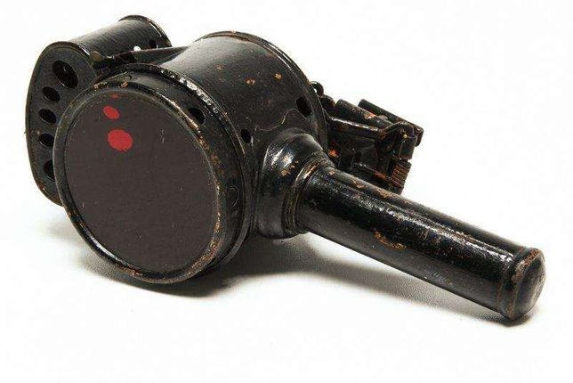 Lanterna antiga de bicicleta