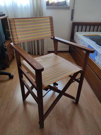 Cadeira de realizador nova