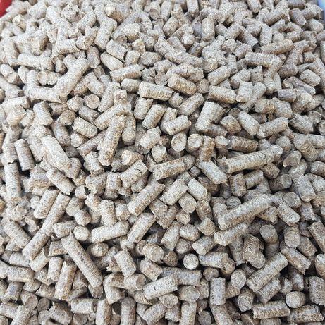 Pelet | Pellet drzewny (liściasty) jakość A1, 8mm, DINplus, ENplus