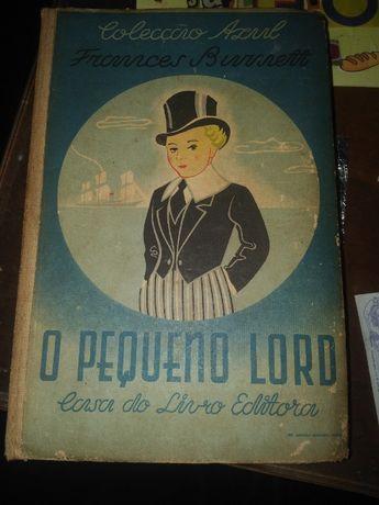 Livro antigo o Pequeno Lord 1946 Casa do Livro