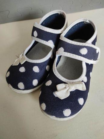 Pantofle dla dziewczynki rozm.25