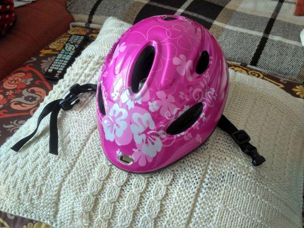 Детский вело шлем защитный LONGUS Kid Funn (розовый)