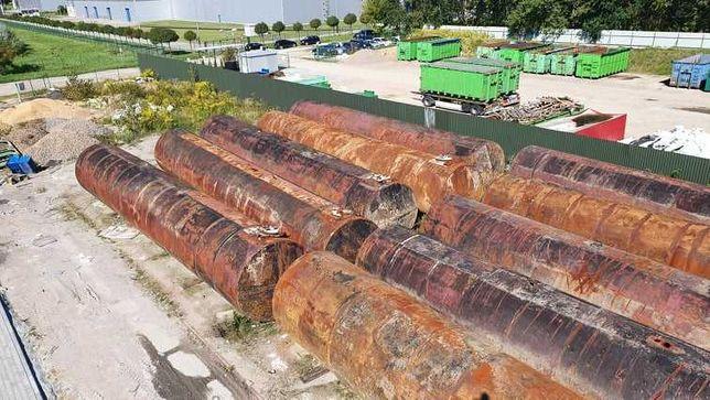 Zbiornik stalowy dwupłaszczowy 100m3 - 110m3   100 000 litrów