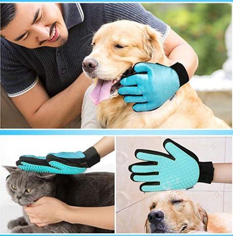 Escova de banho e massagem para animal de estimação