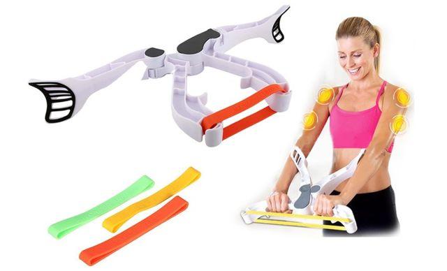 Urządzenie do ćwiczenia ramion, pleców,klatki