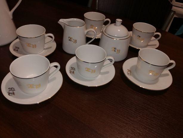Serwis kawowy REGALIA ręcznie malowany