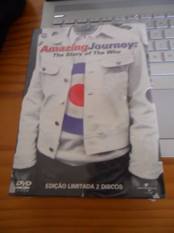 Documentário THE WHO 2 x dvd Amazing Journey The Story of (por abrir)